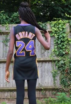basket jersey back shot